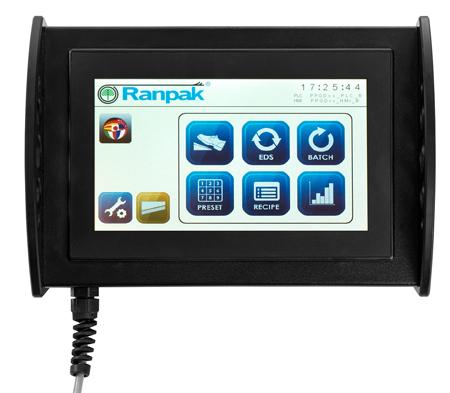 操作画面は、直感的に操作できる磁石付きのタッチスクリーン